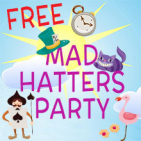 Mad Hatter's Party – FREE