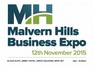 Malvern Hills Business Expo 12th Nov 2015