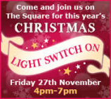 Harborough Christmas Lights 2015 - Switch On