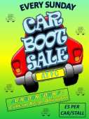 Abingdon Town FC Weekly Car Boot Sale