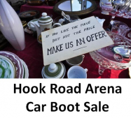 'The Daddy of all Car Boot Sales' at Hook Road Arena! #CarBoot