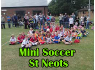 Mini-Soccer Fun for Boys and Girls in Priory Park