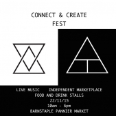 Connect and Create Fest at the Pannier Market this November