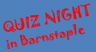 Barnstaple Charity Quiz Night at The Moghul