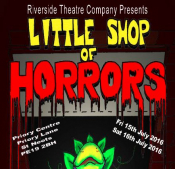 The Riverside Theatre Company presents - Little Shop of Horrors
