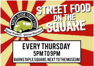Street Food in Barnstaple is back with Bike nights and Family fun evenings too