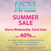 40% Saleat Jacks for Women