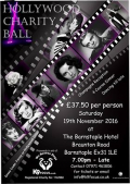 Hollywood Charity Ball for K9 Focus this November