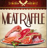 meat raffle at the railway inn