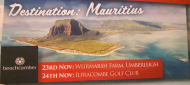 The Destination Club celebrates Mauritius at Ilfracombe Golf Club