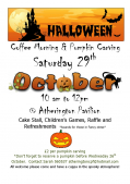 Halloween Coffee Morning