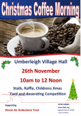 Umberleigh Christmas Coffee Morning