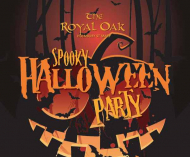 Halloween Spooky Party at The Royal Oak #HolmburtStMary