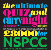 The Ultimate QUIZ & CURRY Night at @TimeWell_Spent Venues in aid of NSPCC