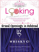 Luxury, excitement and celebrity comes to #Ashtead Village with Grand Opening of @LGWhiskyCo and @BumblesAshtead