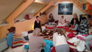 Sound Bath Medititation at the Tarka Clinic Barnstaple