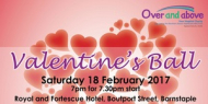 Valentines Ball in aid of Over and Above