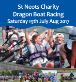St Neots Charity Dragon Boat Racing
