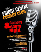 Comedy and Curry Night at The Priory Centre St Neots