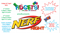 Nerf Party at Fidgets