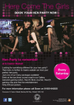 BOOK YOUR HEN PARTY AT G CASINO