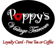 Free Drinks - Poppys Tea Room Loyalty Card...