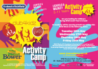 Lichfield May Half Term Activity Camp £12 per day