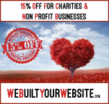 15% Discount on your Website and digital marketing for Charities and non-profit businesses