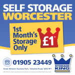 Storage for only £1!!