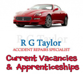 R G Taylor Accident Repair Specialists - Jobs & Apprenticeships