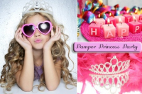 Pamper Princess Party with free birthday cake
