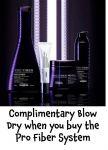 Complimentary Blow Dry when you buy the Pro Fiber System. David Patrick #Epsom
