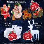 Christmas Lights & Decorations Now in stock! Christmas Bling!