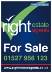 Half Price Selling Fees at Right Estate Agents