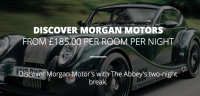 Discover Morgan Motors with the Abbey's Two Night Break