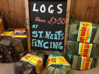 Logs - Buy 10 get 1 free....FREE DELIVERY IN ST NEOTS