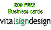 200 FREE BUSINESS CARDS