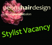 Hair Stylist Vacancy at Peony Hair Design St Neots
