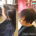 """Get a cut and finish for £10 with any colouring service over the value of £30 at Ellies Salon!"