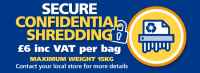 Secure shredding service