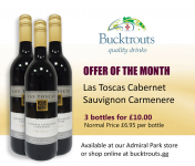 BUCKTROUTS OFFER OF THE MONTH