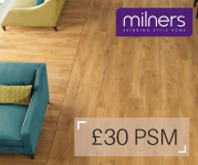 Receive Amitico Oak flooring for £30 PSM with Milners Ashtead