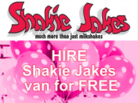 Kids Parties - Hire Shakie Jakes Van for FREE