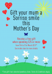 a2, sorriso, mother, s, day, window, promotional, poster