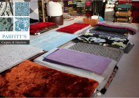 10% off Selected Rugs and Cushions at Parfitt's Carpets and Interiors!