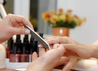 FREE FINGER FILE & POLISH WHEN YOU BOOK A GEL PEDICURE