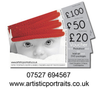 Birthday / Christmas  Photoshoot Vouchers