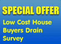 Homeowners Drain Survey Special Offer - £95+VAT Only
