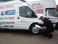 15% discount on Van Hire during May
