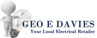 15% off everything in stock at electrical shop Geo.E.Davies!